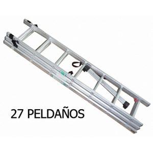 ESCALERA ALUMINIO EXTENSION 27P SST-3X09
