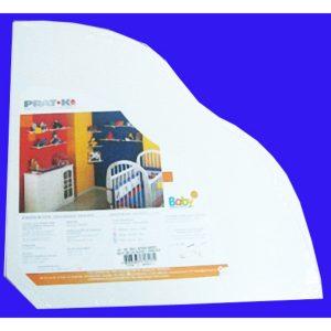 ZC/PRAT-K ESTANTE ESMALTADO BABY BCO C/ACCES.8043.
