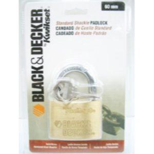 CANDADO B&D STANLEY BRONCE BLISTER 60MM 90250-027