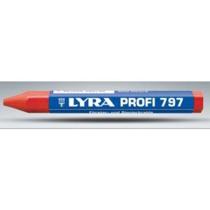CRAYON LYRA ROJO C/FORRO EMP 12PCS