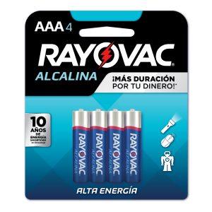 BATERIA RAYOVAC AAA 4+2