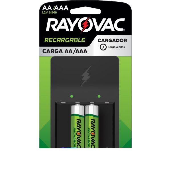 CARGADOR RAYOVAC AA/AAA