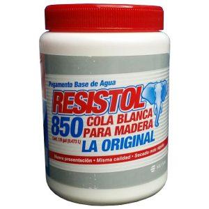 COLA BLANCA RESISTOL 850