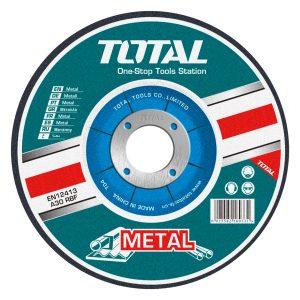"DISCO ESMERILAR METAL TOTAL 9""X7/8"